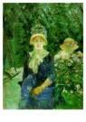 Berthe Morisot (1841-1895)  -  Young Woman in garde - Postcard -  A7785-1