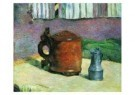 Paul Gauguin (1848-1903)  -  Clay Jug and Iron - Postcard -  A7787-1