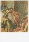 Edgar Degas (1834-1917)  -  E.Degas/Breakfast after the Ba - Postcard -  A7790-1
