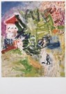 Job Hansen (1899-1960)  -  Park, school, wandelaar, 1949 - Postcard -  A7806-1