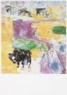 Job Hansen (1899-1960)  -  Runderen, 1956 - Postcard -  A7815-1