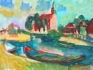 Jaap Min (1914-1987)  -  West-Grafdijk - Postcard -  A7880-1
