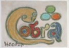 Henry Heerup (1907-1993)  -  Cobra, ca. 1973 - Postcard -  A7930-1