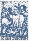 Eddy Varekamp (1949)  -  Ik ben geboren met veel wilde beesten - Postcard -  A8034-1
