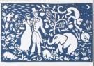 Eddy Varekamp (1949)  -  E. Varekamp/Trouwen in oerwoud - Postcard -  A8036-1