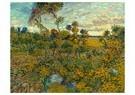 Vincent van Gogh (1853-1890)  -  Sunset at Montmajour, 1888 - Postcard -  A80876-1