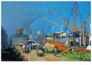Herman Heijenbrock (1871-1948) -  Havengez.bananenb - Postcard -  A8102-1