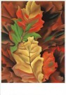 Georgia O'Keeffe (1887-1986)  -  Autumn Leaves - Postcard -  A8137-1