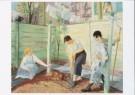 John Sloan (1871-1951)  -  J.Sloan/Spring Planting - Postcard -  A8141-1