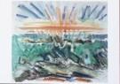John Marin (1870-1953)  -  J.Marin/Sunset Maine Coast - Postcard -  A8142-1