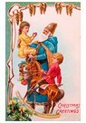 A.N.B.  -  Kerstman houdt kind vast - Postcard -  A81453-1