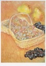 Claude Monet (1840-1926)  -  Basket of Grapes - Postcard -  A8155-1