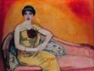 Jan Sluijters (1881-1957)  -  Italiaans meisje - Postcard -  A8179-1