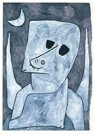 Paul Klee (1879-1940)  -  Angel Applicant, 1939 - Postcard -  A82451-1