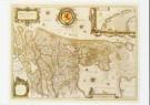 Joan Blaeu (1598-1673)  -  Grooten Atlas, 1664, de Nederlanden, Amsterdam, ha - Postcard -  A8248-1