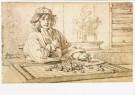 Jacobus Heyblocq (1623-1690)  -  J.Heyblocq/Album Amicorum/KB - Postcard -  A8251-1