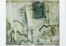Bram Bogart (1921-2012)  -  Kamelen, 1952 - Postcard -  A8269-1