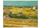 Vincent van Gogh (1853-1890)  -  The harvest, 1888 - Postcard -  A82944-1