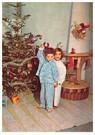 A.N.B.  -  Twee kinderen voor een kerstboom - Postcard -  A83149-1