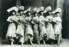 Anoniem,  -  Dansende meisjes - Postcard -  A8345-1
