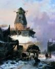 Wijnand Nuijen (1813-1839)  -  W.Nuijen/De Oude Molen/GM - Postcard -  A8350-1