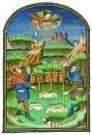 Jean Fouquet (ca.1420-1477/81) -  Verkondiging aan Herders - Postcard -  A8368-1