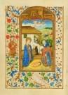 Jean Fouquet (ca.1420-1477/81) -  Geboorte Christus David HarpKB - Postcard -  A8369-1