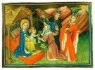 Jean Fouquet (ca.1420-1477/81) -  Aanbidding der Koningen - Postcard -  A8370-1
