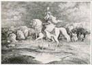 Rodolphe Bresdin (1825-1885)  -  R.Bresdin/La Cavalière/GM - Postcard -  A8389-1