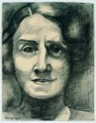 Charlie Toorop (1891-1955)  -  vrouwenportret - Postcard -  A8476-1