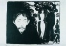 Edvard Munch (1863-1944)  -  Jaloezie II - Postcard -  A8487-1