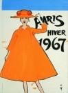 René Gruau (1909-2004)  -  paris hiver - Postcard -  A8496-1
