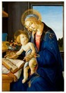 -  The Virgin and Child (The Madonna of the Book), 1480 - Postcard -  A85057-1