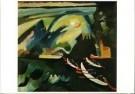 Vassily Kandinsky (1866-1944)  -  Kahnfahrt - Postcard -  A8514-1