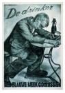 Aart v Dobbenburgh (1899-1988) -  Affiche voor de drankbestrijding, 1935 - Postcard -  A8610-1