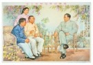 -  Mao receives the Model - Postcard -  A8630-1