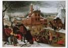 P. Bruegel d Jonge (1564-1638) -  Winterlandschap, tweede kwart 16e eeuw - Postcard -  A8652-1