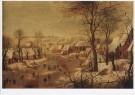 P. Bruegel d Jonge (1564-1638) -  P. Brueghel de Jonge/Winterlan - Postcard -  A8657-1