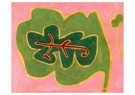 Paul Klee (1879-1940)  -  Leaf, 1937 - Postcard -  A86675-1