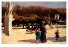 Jan Sluijters (1881-1957)  -  Park te Madrid - Postcard -  A8672-1