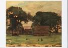 Piet Mondrian (1872-1944)  -  P.Mondriaan/Boerderij in Twent - Postcard -  A8689-1