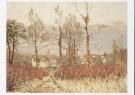 Alfred Sisley (1839-1899)  -  A. Sisley/Gezicht op Louvecien - Postcard -  A8690-1