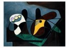 Pablo Picasso (1881-1973)  -  Compotier et guitar - Postcard -  A8709-1