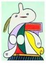 Pablo Picasso (1881-1973)  -  La ceinture jaune - Postcard -  A8711-1