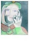 Pablo Picasso (1881-1973)  -  Buste de Femme - Postcard -  A8713-1