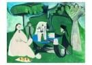 Pablo Picasso (1881-1973)  -  Le dTjeuner sur - Postcard -  A8727-1