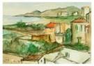 Theo Swagemakers (1898-1994)  -  Landschap Nerga - Postcard -  A8774-1