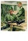E.A.Hof  -  Het poetsen van beenkappen - Postcard -  A8793-1
