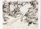 Henk Melgers (1899-1973)  -  De stier is los!, ca. 1950 - Postcard -  A8859-1
