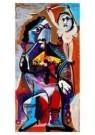 Pablo Picasso (1881-1973)  -  Fumeur et amour - Postcard -  A8875-1